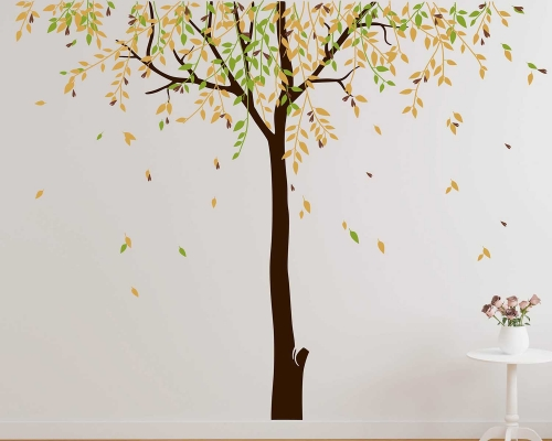 Willow Large Tree Wall Art Decal