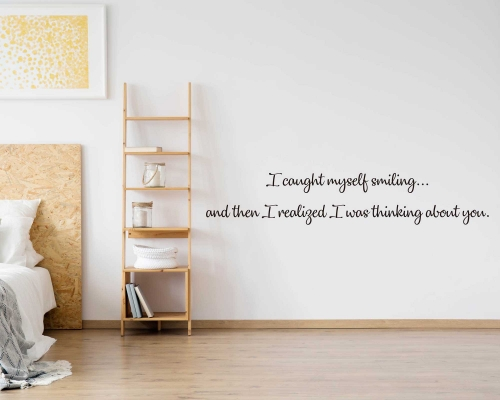 Love Quotes Wall Decal-Thinking About You