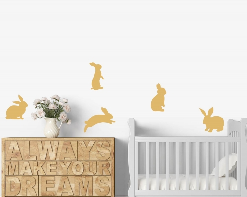 Little Rabbit Bunny Wall Decals