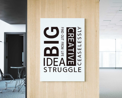 Idea Creative Quotes Wall Decals