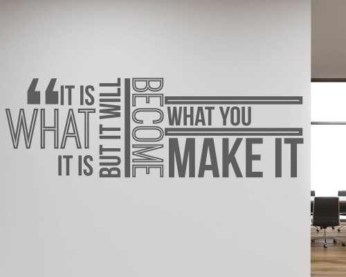 Wall Sticker Quotes For Office Art